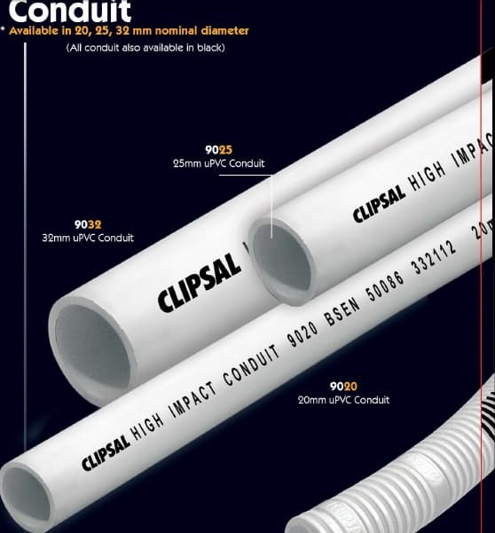 PIPA CONDUIT 20MM CLIPSAL