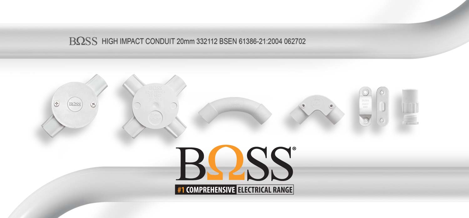 KLEM CONDUIT BOSS 20MM PUTIH