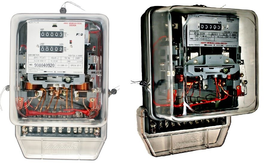 KWH Meter 3 Phase Double Tarif
