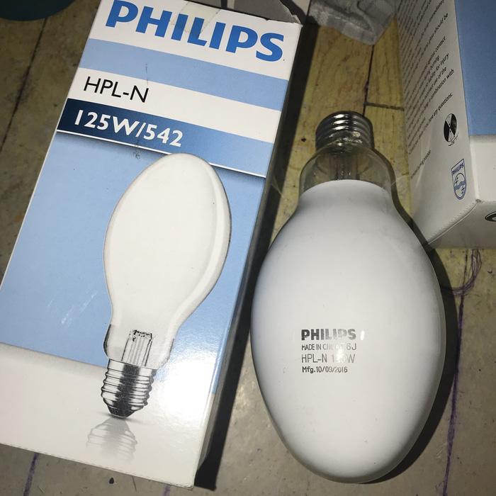 LAMPU MERCURY HPL-N 125W E27