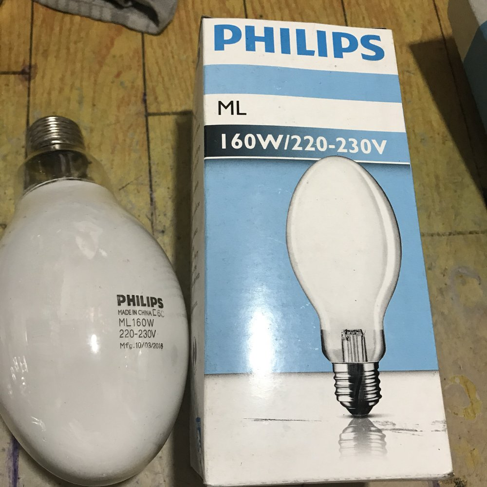 LAMPU MERCURY ML 160W E27