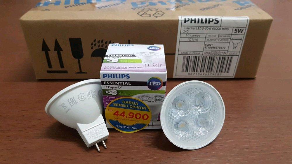 LAMPU HALOGEN LED ESENSIAL LED