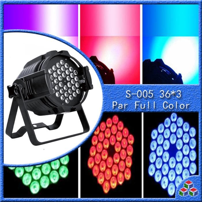 LAMPU DISKO PAR FULL COLOR