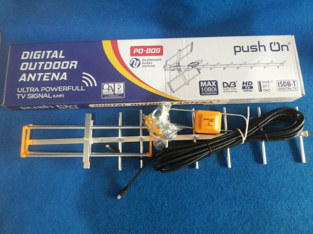 Antena Luar Push On 809