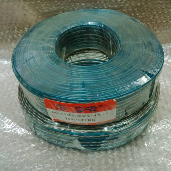 Kabel Transparan 2x50x100m Ful