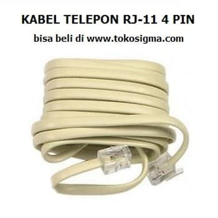 Kabel Telephone Jek To Jek