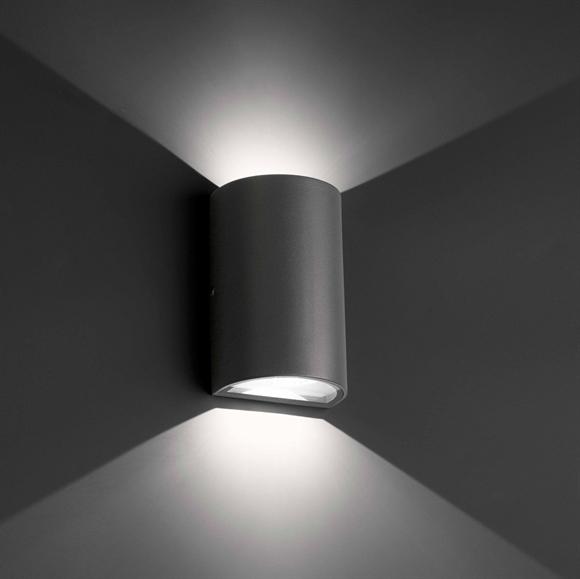 Ekterior lampu dinding model 4