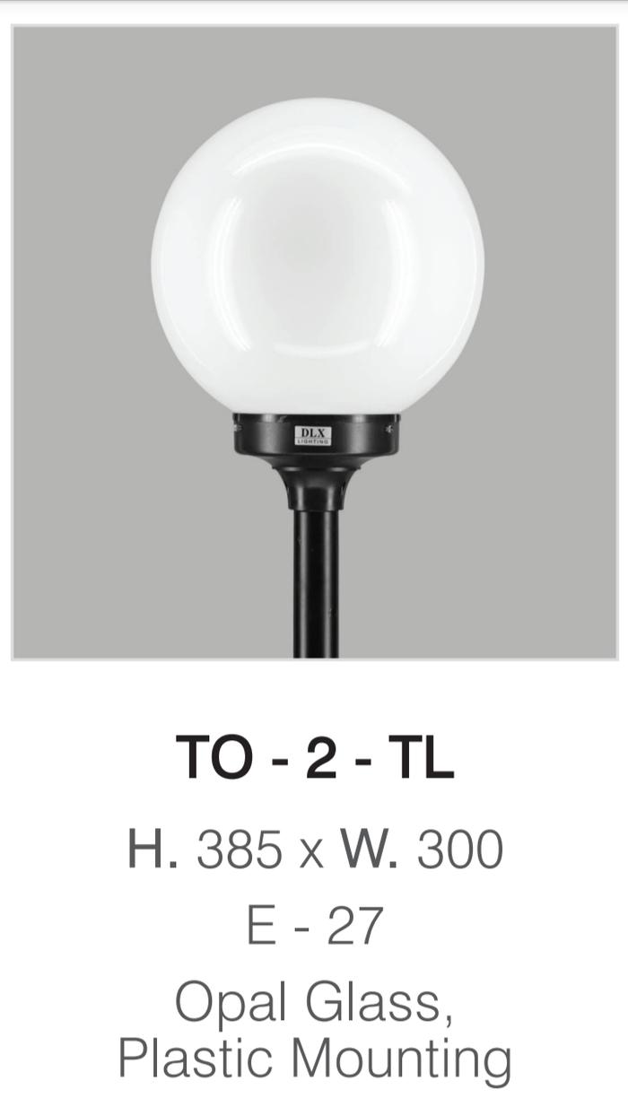 lampu taman TO 2 TL