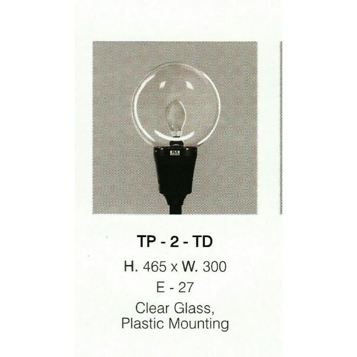 lampu taman TP 2 TD