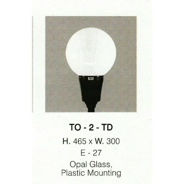 lampu taman DLX TO 2 TD
