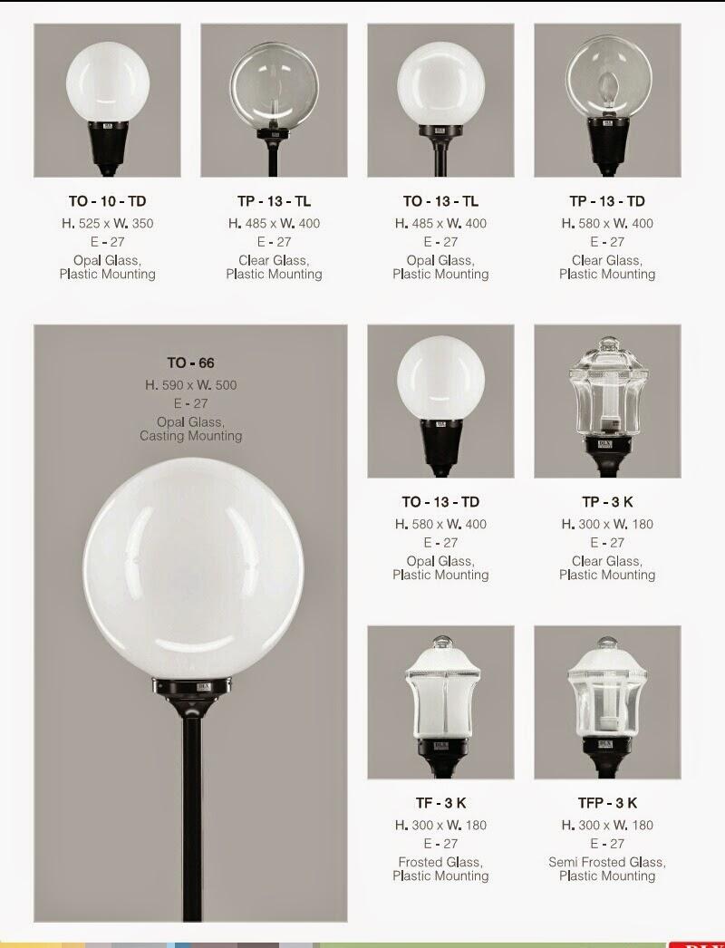 lampu taman DLX TO-10 TD